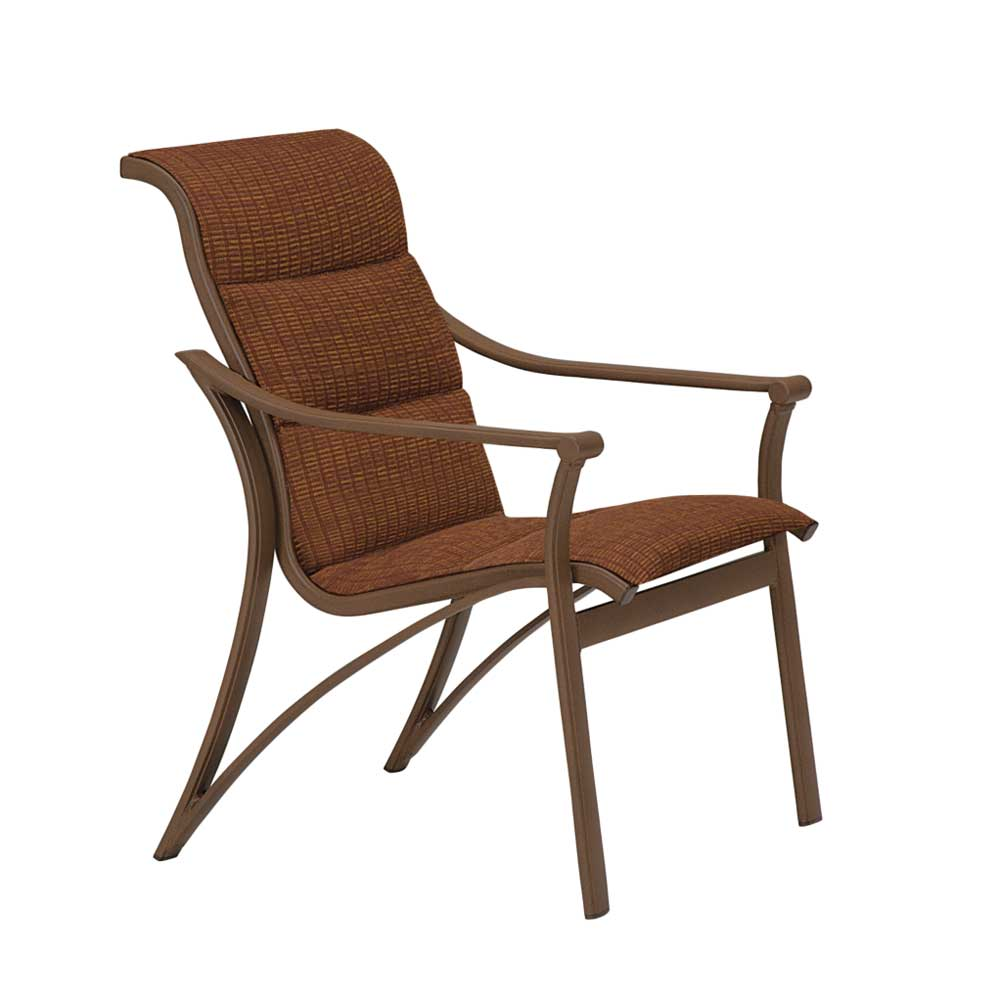 Corsica Padded Sling Dining Chair