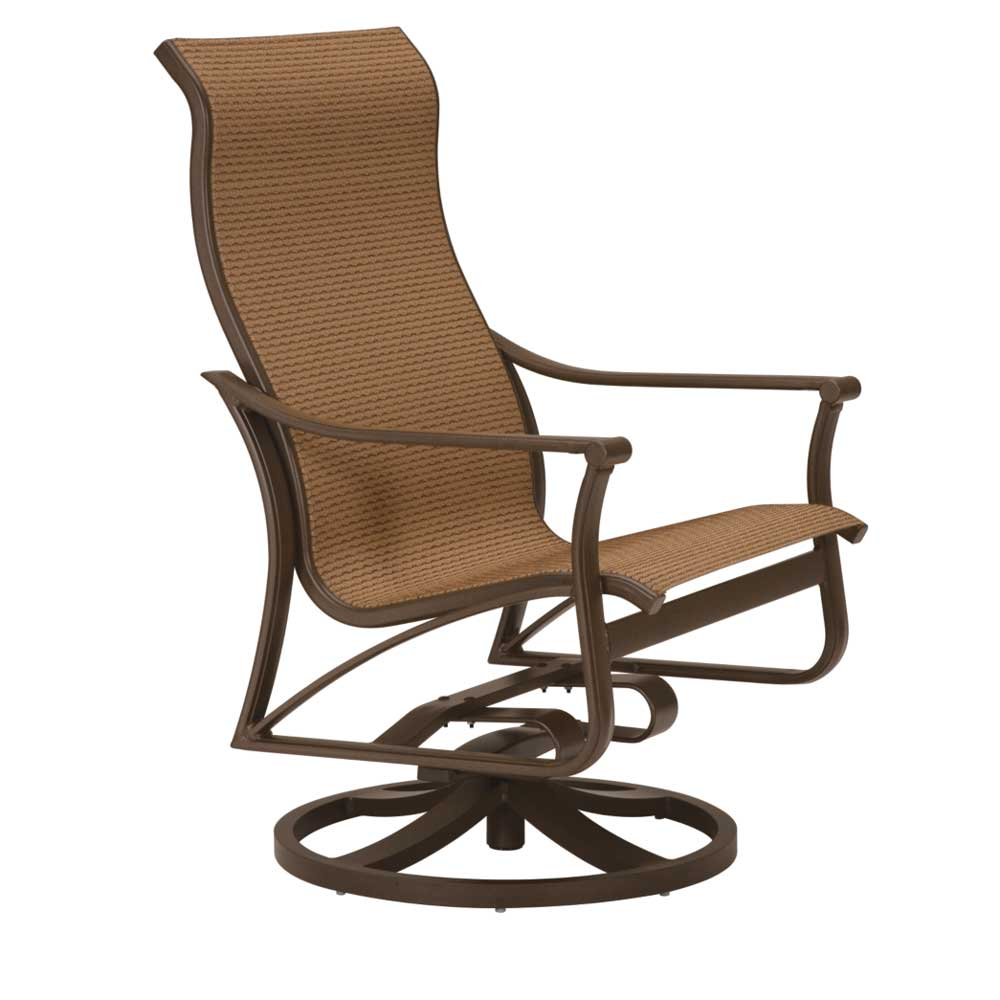 Corsica swivel sling Dining Chair