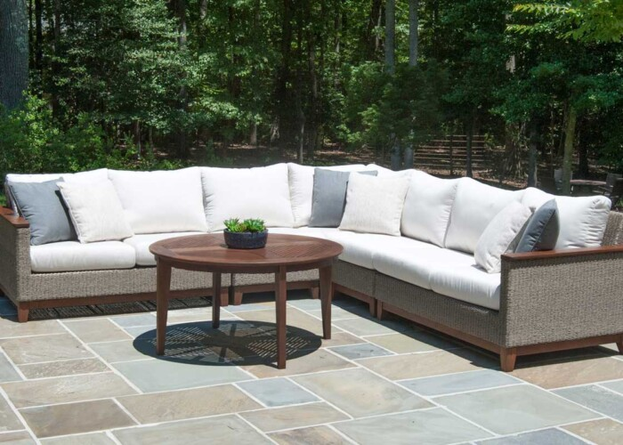 jensen-leisure-coral-weave-sectional