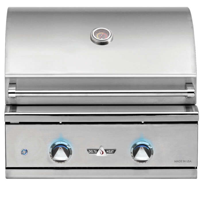 Delta Heat 26in Built In Gas Grill