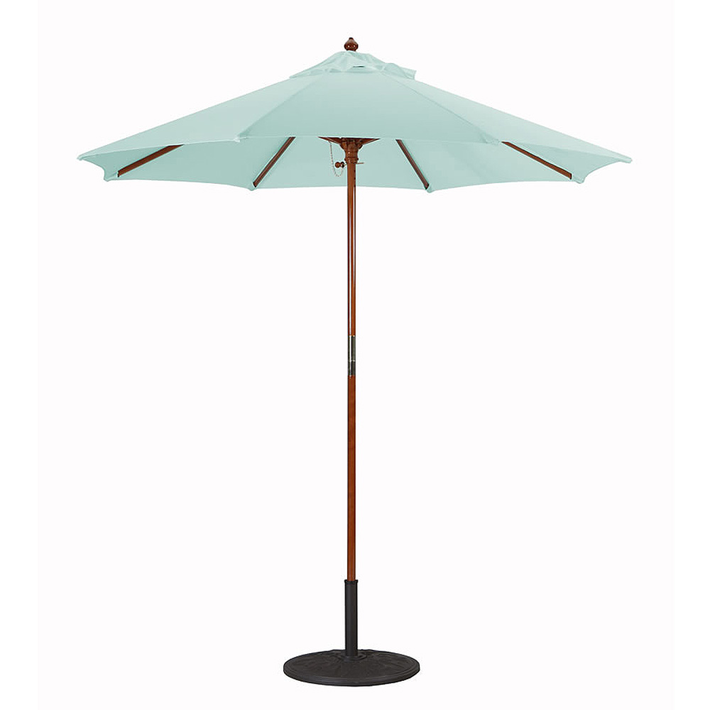 Commercial grade Wood Market Umbrella