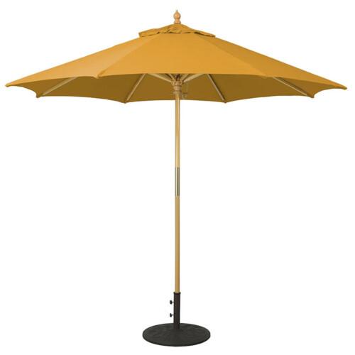 Commercial Grade Wood Market Umbrella