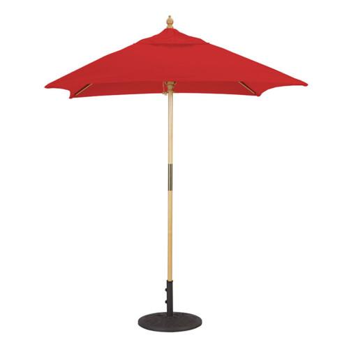 Commerial Grade Wood Market Umbrella
