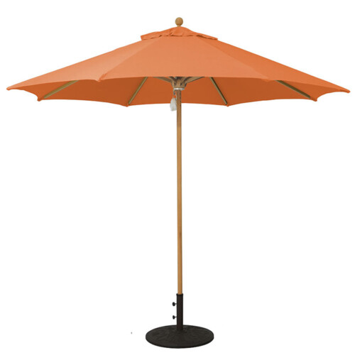 Teak Market Umbrella