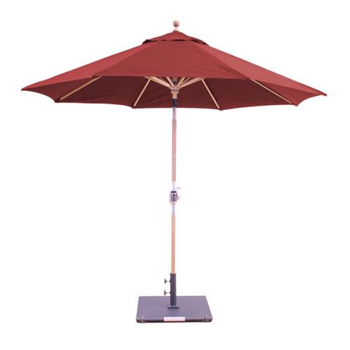 Teak Market Umbrella