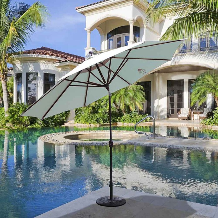 Aluminum Market Umbrella