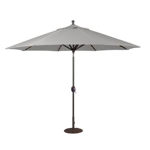 Aluminum Market Umbrella LED Lights