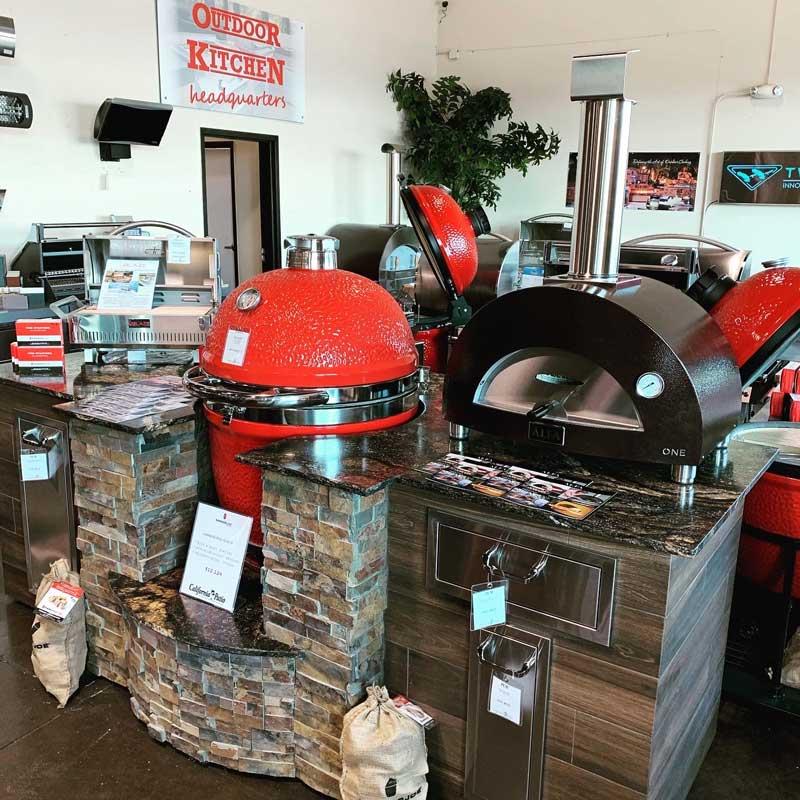Alfa Pizza Oven & Kamado Joe Grill