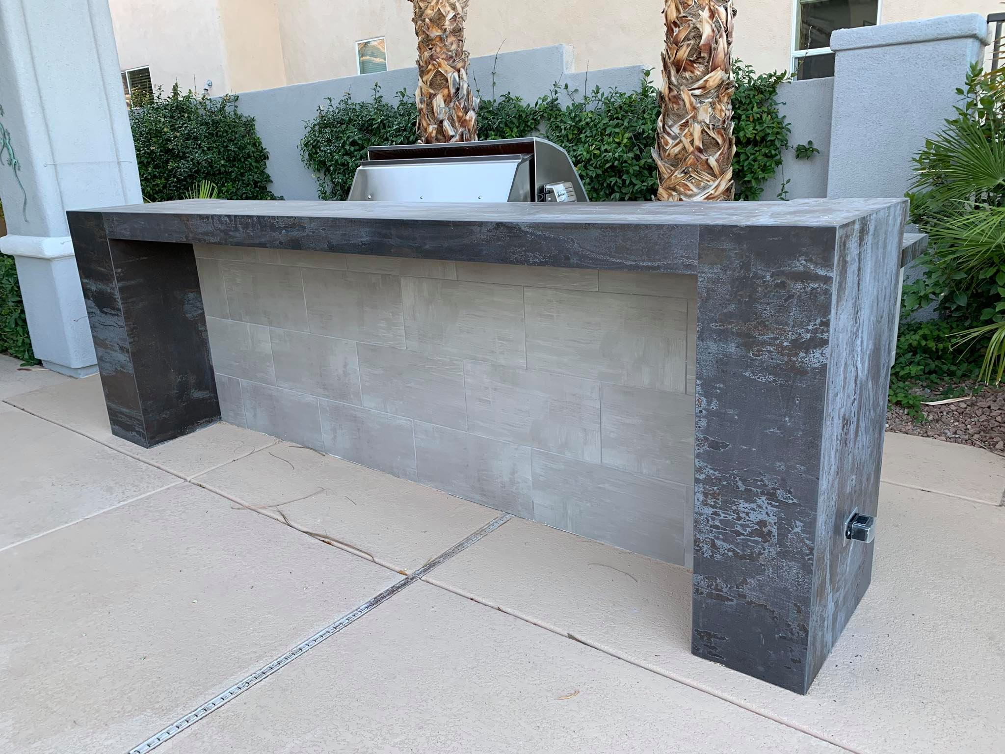 Outdoor Kitchen Viking Outdoor Grill 5