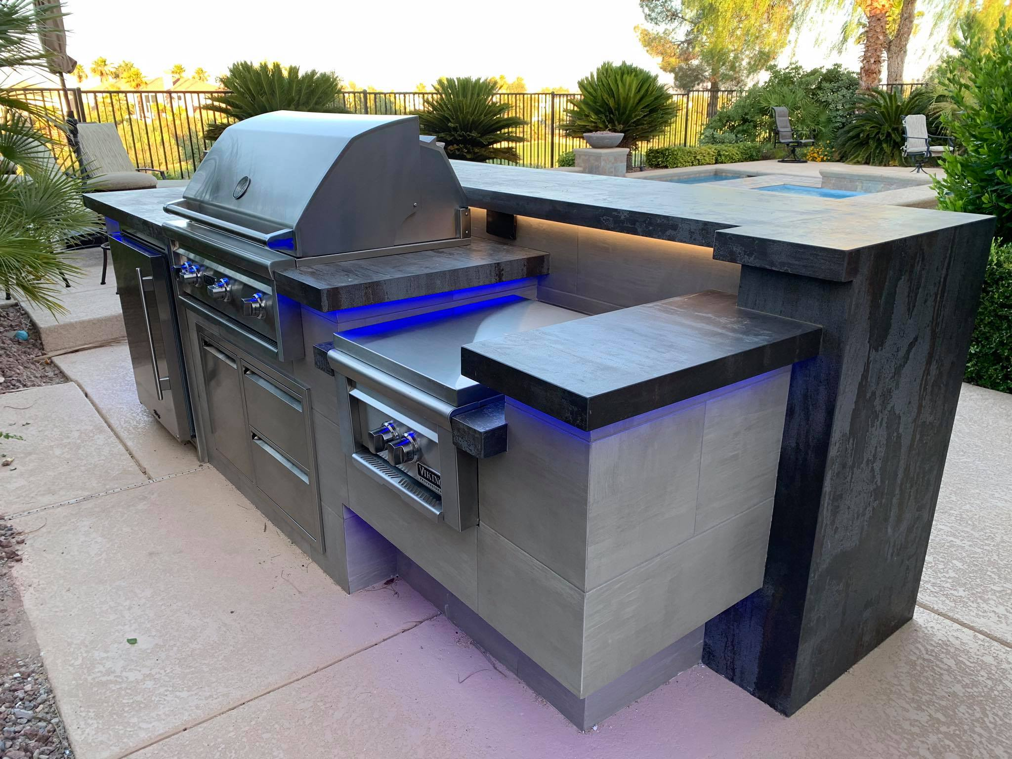 Outdoor Kitchen Viking Outdoor Grill