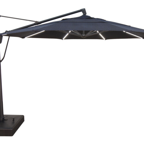 Cantilever Umbrella with Lights
