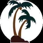 California Patio Palm Tree Logo